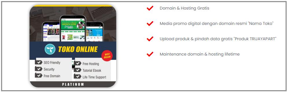 website toko online trijayapart