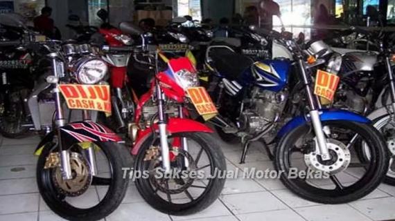 Tips Sukses Jual Motor Bekas Bandung