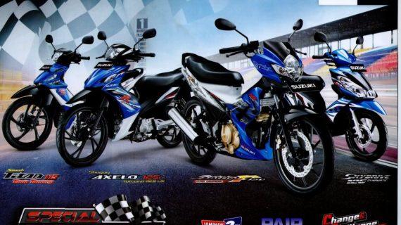 Suzuki Dengan Jenis Motor Terbaru Yang Dikeluarkan