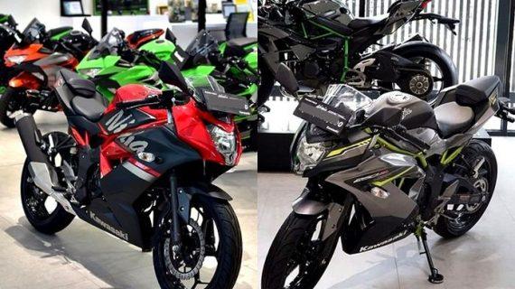 Kawasaki Ninja, Model Motor Yang Telah Dikeluarkan