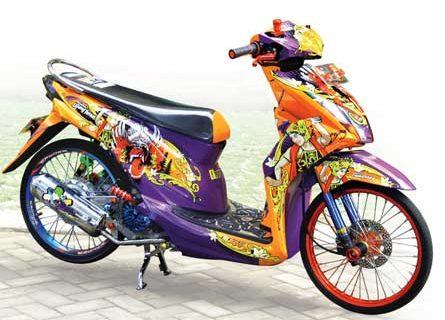Kumpulan Modifikasi Motor Honda Beat Terbaik