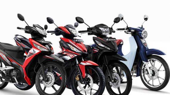 Daftar Motor Bebek Honda 2021 Teririt