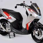 Modifikasi Yamaha Lexi Tampak Lebih Menawan